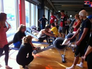 500 m rodd Jensen Gymnasium